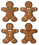 gingerbread печений Стоковая Фотография RF