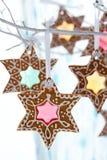 gingerbread печений Стоковое фото RF