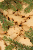 gingerbread печений стоковая фотография