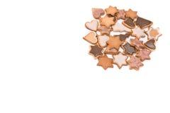 gingerbread предпосылки Стоковое Изображение RF