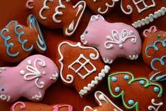 gingerbread рождества Стоковое Изображение RF