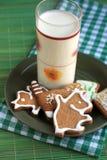 Gingerbread рождества Стоковые Фотографии RF