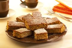 gingerbread торта Стоковые Изображения RF