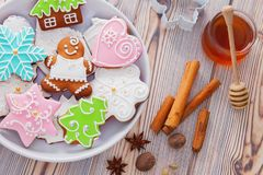 gingerbread photo libre de droits