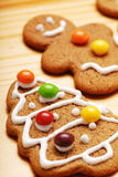 Gingerbread. Tree on the table Royalty Free Stock Images