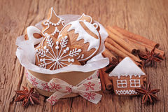 Печенья Gingerbread Стоковые Изображения