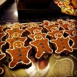 gingerbread fotografia stock