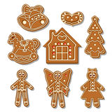 Gingerbread all Royalty Free Stock Photo