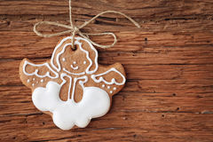 Gingerbread angel Stock Photo