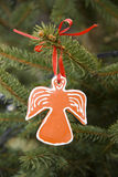 Gingerbread angel Royalty Free Stock Photos