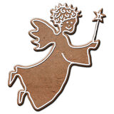 Gingerbread angel Stock Image