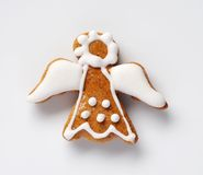 Gingerbread angel Stock Photography