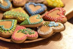 Gingerbread bakery in Torun. Poland royalty free stock image