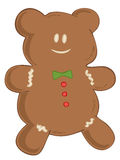 Gingerbread bear. Stock Images