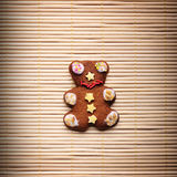 Gingerbread bear Stock Photography