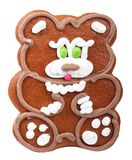 Gingerbread bear Stock Images
