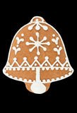 Gingerbread bell Stock Images