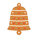 Gingerbread Bell Stock Image