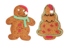 Gingerbread Biscuit People Royalty Free Stock Photo