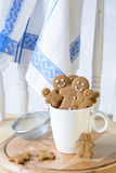 Gingerbread Biscuits Stock Photo