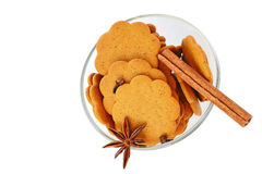Gingerbread biscuits Royalty Free Stock Photography