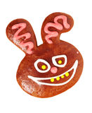 Gingerbread bunny Stock Photos
