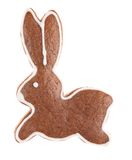 Gingerbread bunny Royalty Free Stock Images