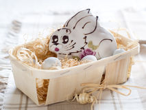 Gingerbread bunny Royalty Free Stock Photos