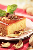Gingerbread cake royalty free stock images