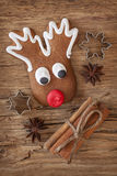 Gingerbread cake Stock Image