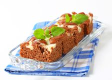 Gingerbread cake with cheese Stock Photography