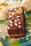 Gingerbread cake for christmas Stock Photo
