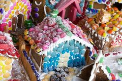 Gingerbread candyland Stock Image