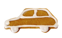 Gingerbread car Royalty Free Stock Image