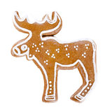 Gingerbread cariboo Royalty Free Stock Images