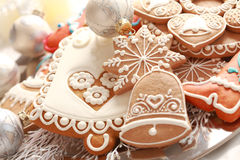 Gingerbread for Christmas Stock Image