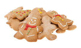 Gingerbread christmas cookies Royalty Free Stock Photography