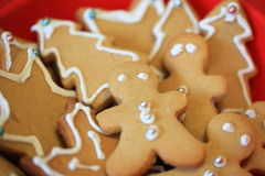 Gingerbread Christmas Royalty Free Stock Photos