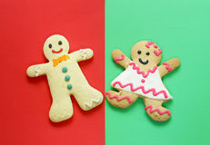 Gingerbread Christmas Royalty Free Stock Photos