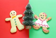 Gingerbread Christmas Stock Photography