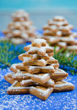 Gingerbread christmas tree Royalty Free Stock Photo