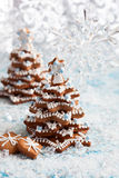 Gingerbread Christmas tree Stock Photos