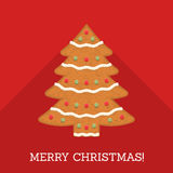 Gingerbread Christmas Tree Royalty Free Stock Photo