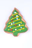 Gingerbread Christmas tree Royalty Free Stock Photography