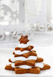 Gingerbread christmas trees Royalty Free Stock Photos
