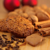 Gingerbread and Cinnamon Stock Images