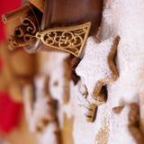Gingerbread and Cinnamon Stock Photo