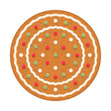 Gingerbread Circle Stock Images