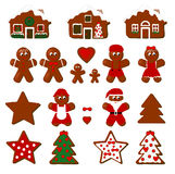 Gingerbread Collection Stock Images
