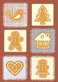 Gingerbread cookeis Royalty Free Stock Image